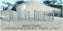 Sequel - Beach Fence (Boxed)