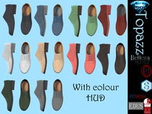 Topazz-Mens loafer shoes