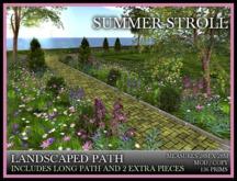 TMG - SUMMER STROLL - LANDSCAPED PATH*