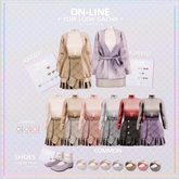 ON-LINE. YURI LOOK / SHOES LILAC
