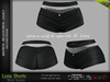 LUNA FEMALE SHORTS BLACK COLOR - MESH - Maitreya Lara, Belleza Freya, Legacy - FashionNatic
