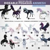 SEmotion Libellune Rideable Pegasus Animesh #17 UNCOMMON