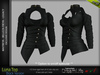 LUNA FEMALE TOP BLACK COLOR - MESH - Maitreya Lara, Belleza Freya, Legacy - FashionNatic
