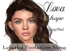 "Nova Shape ""Lelutka Evolution Nova Head"""