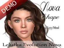 "Nova Shape ""Lelutka Evolution Nova Head"" Demo"
