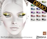 Zibska ~ Sovi Eyemakeup for Lelutka HD Demo