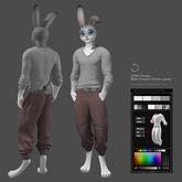 JOMO Avatar Male Sweater Harem pants