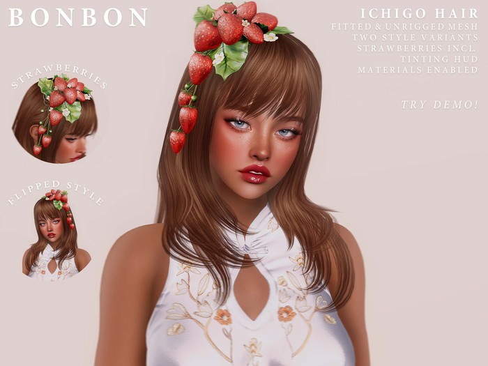 bonbon - ichigo hair (colours)
