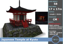 PROMO DISCOUNT: * M^2 * Japanese Temple at Kyoto (BOXED/MESH/COPY/MODIFY)