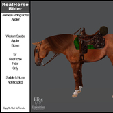 *E* RHR - Western Saddle Applier - Brown [Add & Click to Open]