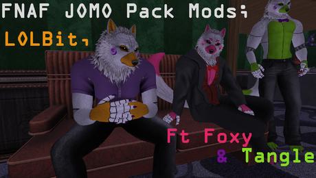 FNAF Male JOMO Wolf V3 Mod
