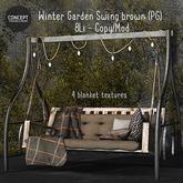 Winter Garden. Brown Swing . PG