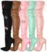 EVIE - Trendsetter Velvet Boots