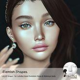 Elemiah.shapes.LEL12 - for Lelutka Bento head NOVA & Maitreya