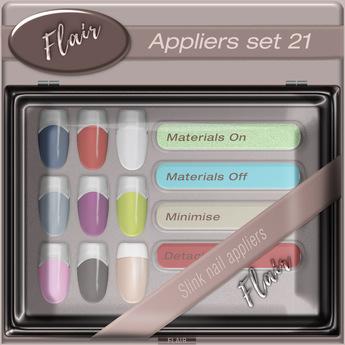Flair - Nail Appliers Slink - Set 21
