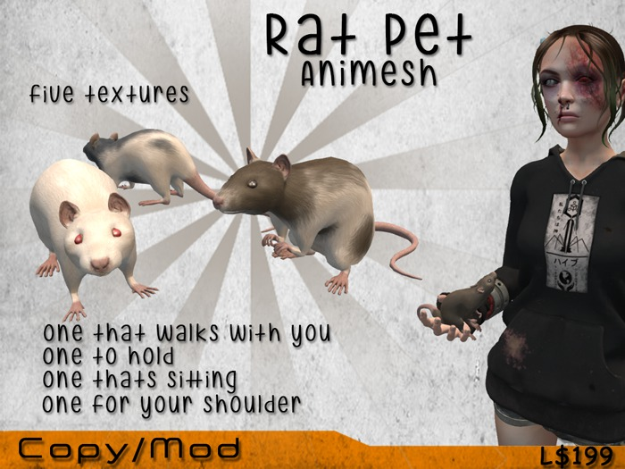 [Vaak] Animesh Pet Rat