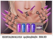 {WitchCraft } Rosie Bento Ballerina Nails & Polish