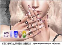 [WitchCraft]  Mystic Dreams Ballerina Bento Nails & Polish