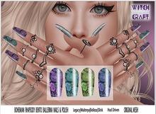 {WitchCraft } Bohemian Rhapsody Bento Ballerina Nails & Polish