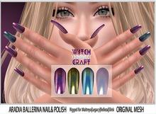 [WitchCraft] Aradia Ballerina Nails  & Polish