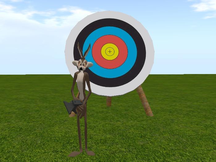 Fourmilab Anvil Tosser and Target