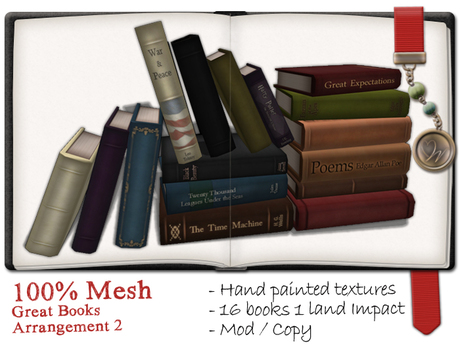 -W-[ Great Books ] 100% Mesh Arrangement2 (mod/copy)