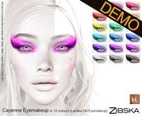 Zibska ~ Cayenne Eyemakeup for Lelutka HD Demo