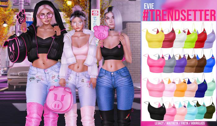 EVIE - Trendsetter Top [Fatpack]