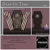 Widdershins - Dead On Time [Cabinet Clock]