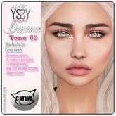 *YS&YS* Danana Tone 02 Skin Applier for Catwa + BOM
