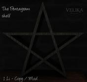 Velika Rituals - Pentagram shelf