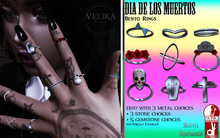 Velika Rituals - Day of the dead - Bento Rings