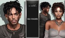 no.match_ ~ NO_ROOM ~ Pack of BLACKS