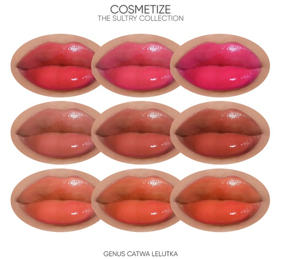 Cosmetize / The Sultry Collection / Genus Catwa Lelutka