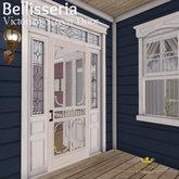 Bellisseria - Wooden Screen Door (ADD to OPEN BOX)