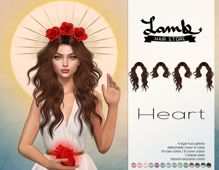 Lamb. Heart - Pastel Pack