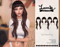 Lamb. Witchy - Dark Brown Pack