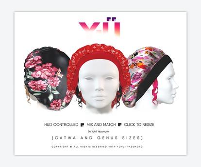 """Y-U: BONNET x CURLS """"WOMENS"""" [ADD]"""