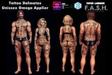 F.A.S.H VIPER Tattoo Unissex Dalmatas Omega Applier