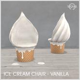 Sequel - Ice Cream Chair - Vanilla