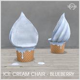 Sequel - Ice Cream Chair - Blueberry