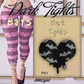 ::LL:: Dark Tights // Bats