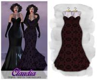 MAAI Claudia lace gown * Maitreya Lara * Red