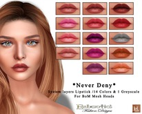 ~Emberotic's~ Never Deny Lipstick System Layers for BoM Heads
