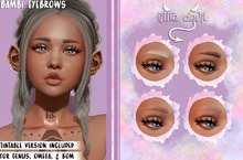 .little devil. - bambi eyebrows