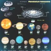 ~isil~ Planetarium Hologram (Sol) RARE