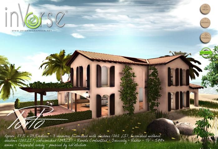 inVerse® MESH - Porto - furnished modern house cottage Hi-def