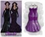 MAAI Claudia latex gown * Maitreya Lara * Purple