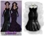 MAAI Claudia latex gown * Maitreya Lara * Black