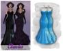 MAAI Claudia latex gown * Maitreya Lara * Blue